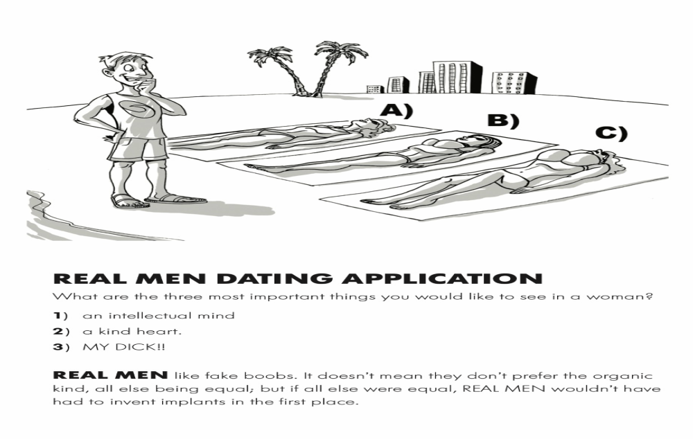 Real Men - Dating Application
