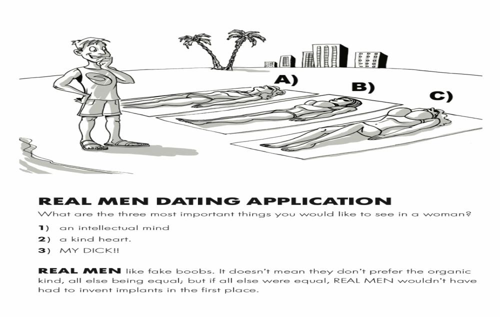 Real Men - Dating Application