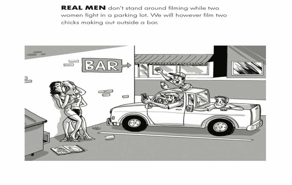 Real Men - Filming
